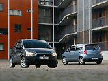 Nach dem Facelift 2008 wurde der Mitsubishi Colt etwas auffälliger.