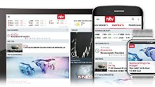 Smartphones, Watches und Tablets: Die n-tv App