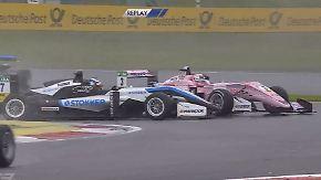 Rutschige Regenpartie in der Formel 3: Maximilian Günther erlebt Schlappe auf dem Nürburgring