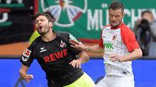 """BVB mit Mühe, Bayer ganz schwach: Augsburg stürzt """"Effzeh"""" ins Stimmungstief"""