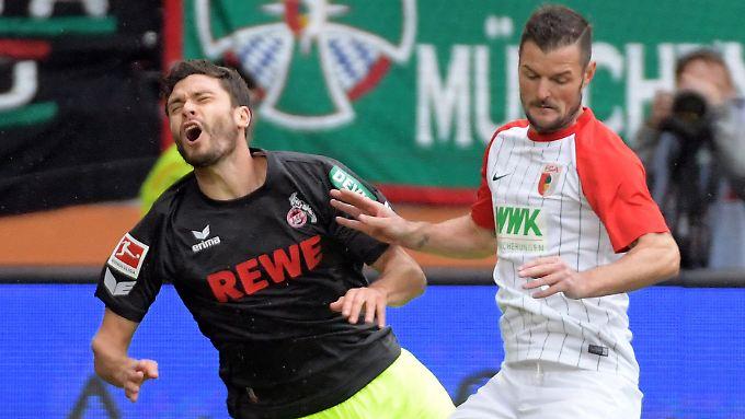 Nationalspieler Jonas Hector zeigte bei den Kölnern ungewohnte Schwächen.