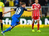 Mit Müller, aber ohne Wucht: Hoffenheims Uth düpiert den FC Bayern