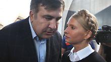 Saakaschwili erreicht Ukraine: Georgiens Ex-Präsident durchbricht Blockade