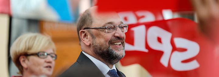 """""""Keine Kompromisse"""": Schulz benennt """"unverhandelbare"""" Bedingungen"""