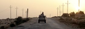 IS reklamiert Tat für sich: 20 Polizisten bei Anschlag auf Sinai getötet