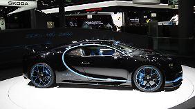 Gerade hat der Bugatti Chiron einen Geschwindigkeitsrekord hingelegt. Ohne Strom, aber mit fossilen Brennstoffen.
