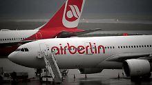 """200 Piloten """"krank"""": 100 Flüge bei Air Berlin fallen aus"""
