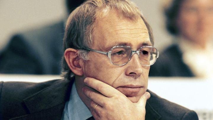 Heiner Geißler auf einem Bild aus dem Jahr 1981.