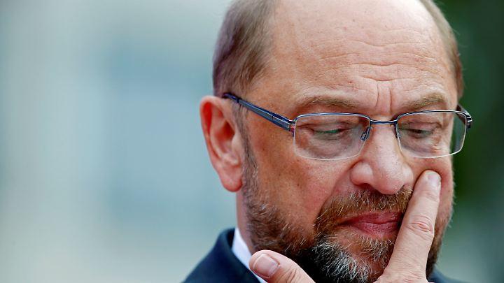 Bei den aktuellen Umfragen kann die Vorfreude auf den 24. September bei Martin Schulz und den Sozialdemokraten nicht besonders hoch sein.