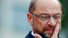 Vom Hype zum Absturz: Es ist Zeit, aber nicht für Martin Schulz