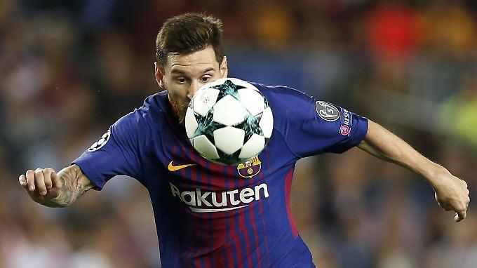 Barcas Messi zaubert wieder.