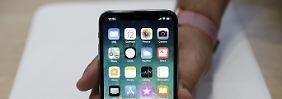 Zukunft ohne Home-Button: Apple feiert das iPhone X