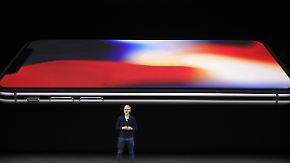 Großes Smartphone, stolzer Preis: Apple versucht mit iPhone X den nächsten Sprung