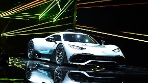 Superflitzer auf der IAA: AMG lässt mit 1200 PS Ferrari erblassen