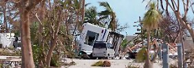 Noch immer ohne Strom: Florida Keys erstehen aus Trümmern auf