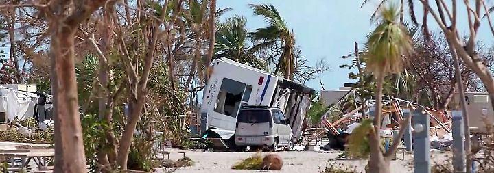 Noch immer ohne Strom: Florida Keys auferstehen aus Trümmern