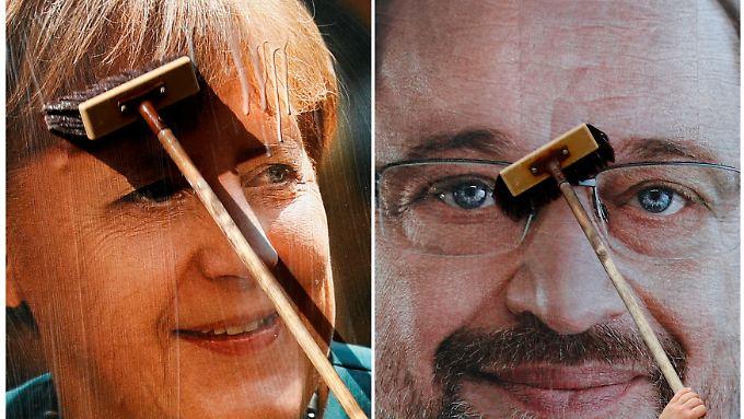 Es bleibt in diesem Wahlkampf bei einem TV-Duell zwischen Schulz und Merkel.