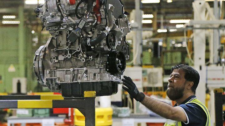 Mehr als 32 Millionen Menschen sind in Großbritannien beschäftigt.