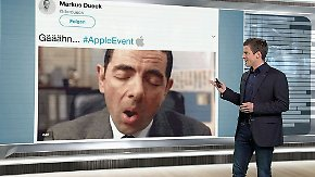 n-tv Netzreporter: #AppleEvent langweilt die Webgemeinde
