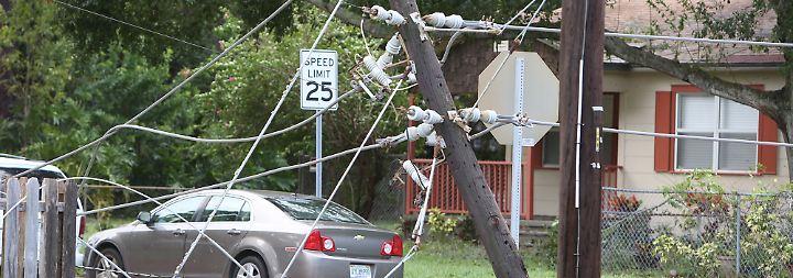 Dunkelheit im Sunshine State: Florida bleibt wochenlang ohne Strom