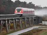 Endstation für den Hightech-Zug: Transrapid rollt Richtung Wurstfabrik