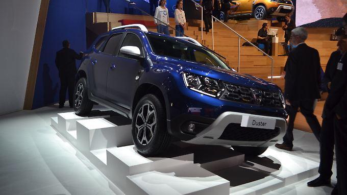 Der neue Dacia Duster ist auf der diesjährigen IAA schon fast so etwas wie ein Geheimtipp.