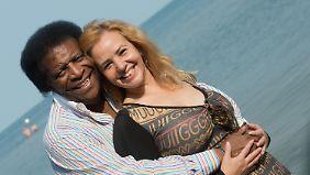 Roberto und Luzandra Blanco haben ein Haus in Jaimanitas auf Kuba. Hier sind sie auf Usedom in 2016 zu sehen.