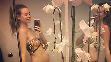 Adam Levine wird wieder Vater: Model Behati Prinsloo zeigt ihren Babybauch