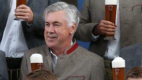 Wie lange gibt es noch Weißbier für Carlo Ancelotti?