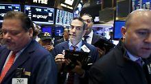 US-Inflation zieht an: Zinsspekulationen belasten Wall Street