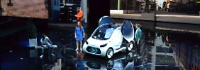 Der Smart Vision EQ fortwo ist für Mercedes das Robotertaxi der Zukunft. Aber die Hardware allein reicht wohl nicht mehr.