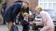 Kate und William atmen auf: Stalkerin des kleinen George festgenommen