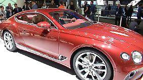 """""""Hommage an Geschichte und Zukunft"""": Neuer Bentley Continental GT feiert Weltpremiere auf der IAA"""