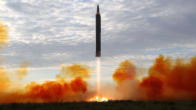 Der jüngste Raketentest erfolgte nur wenige Tage nach Bekanntwerden der neuen Sanktionen gegen Nordkorea.