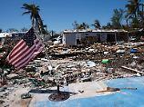 Schwere Zerstörungen in Islamorada/Florida.