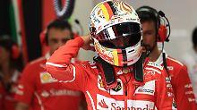 """Hamilton muss ums Podium kämpfen: Vettels """"Wunderrunde"""" schockt Mercedes"""