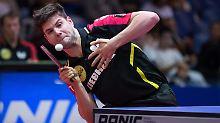 Dimitrij Ovtcharov hatte im Halbfinale seine liebe Mühe mit seinem deutlich schlechter gesetzten Gegner.