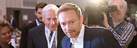 Landet Christian Lindner mit der FDP in der Regierung?