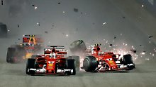 Crash-Debakel in Singapur: Lauda tritt gegen Ferrari-Star Vettel nach