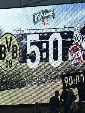 Das Traumergebnis des BVB geriet bei der ganzen Videobeweis-Diskussion etwas in den Hintergrund.