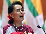 Kehrtwende in Myanmar?: Suu Kyi verurteilt Gewalt gegen Rohingya