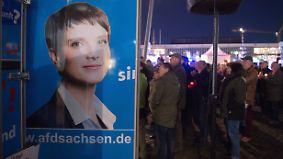 Gespaltenes Dresden: Wahlkampfendspurt unter der Frauenkirche