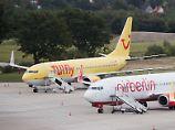 Jets bei Air Berlin im Einsatz: Tuifly schnallt den Gürtel enger