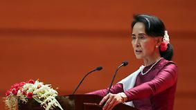 Amnesty International ist enttäuscht: Suu Kyi äußert sich erstmals zur Gewalt gegen Rohingya