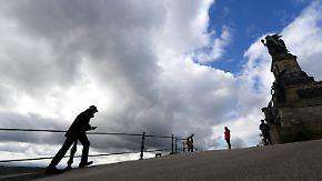 Aprilwetter im September: Sonne und Wolken wechseln sich am Mittwoch ab