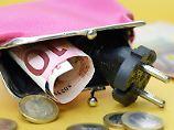 Nur wenige Euro Entlastung: Keine Entspannung bei Strompreisen in Sicht