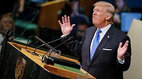 """""""Wir müssen viel mehr tun"""": Trump teilt vor der UN-Vollversammlung aus"""