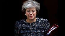 Will die Summe am Freitag offiziell bekannt geben: Theresa May.