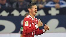 Schalke hadert mit Handspiel: James-Gala mindert Sorgen beim FC Bayern