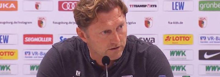 """Hasenhüttl nach Baiers Genital-Geste: """"Schade, dass es nicht schon während des Spiels gesehen wurde"""""""